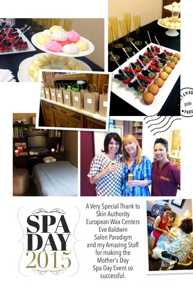 Mother S Day Spa Day 2015 Trang T Chesler Dds